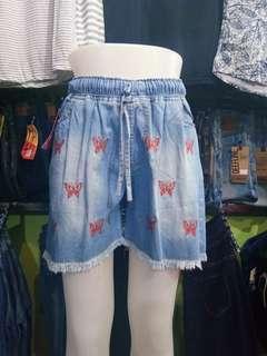Hotpants denim jeans