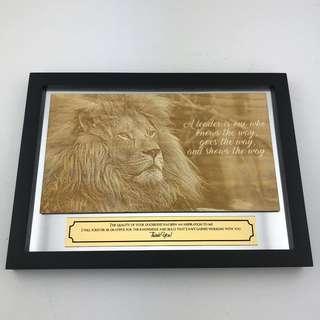 Appreciation Plaque for Mentor