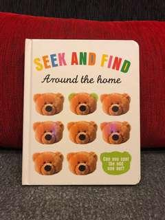 Seek and Find Around the Home Board Book
