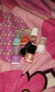 Take all nail polishes