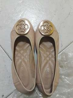 Nude shoes size 38