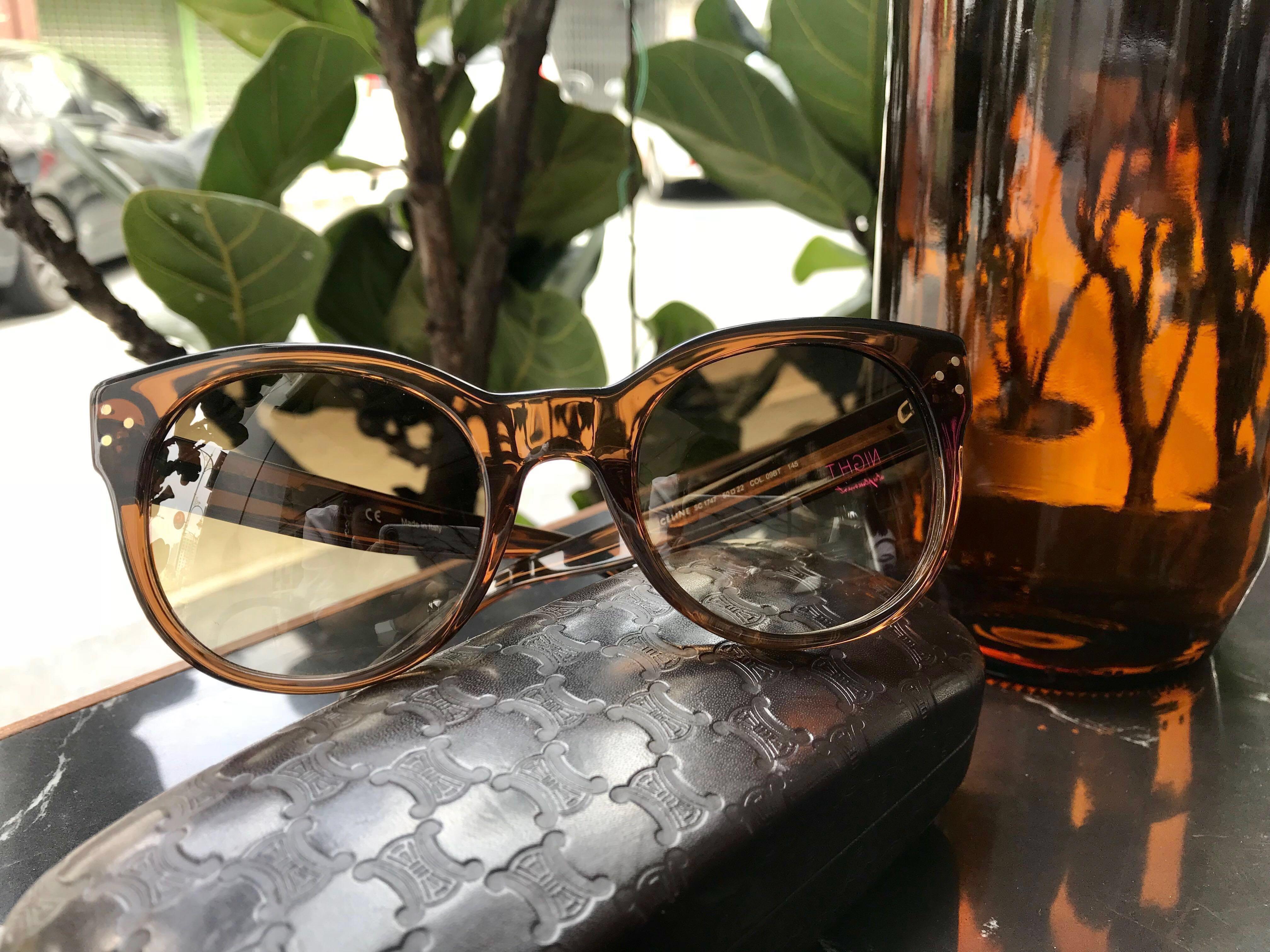 6dcd4007e9bd 💫 *Authentic* Celine Audrey Sunglasses Brown, Women's Fashion, Accessories,  Eyewear & Sunglasses on Carousell
