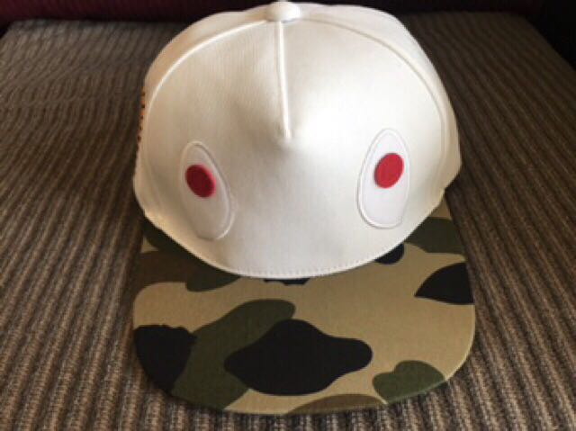 13a8feaf31102 💯 ORIGINAL Bathing APE + WGM SHARK Camo Cap