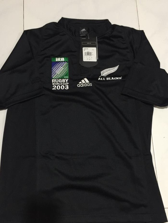 c4de074dfa8 Adidas Limited Edition All Blacks Rugby 2003 World Cup Jersey 1/6000 ...