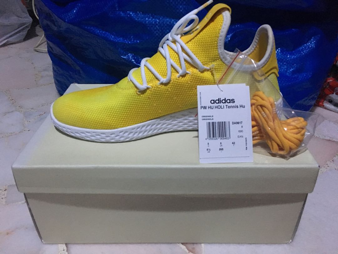 3e484ca31b14f Adidas Pharrell Williams Tennis Hu Yellow