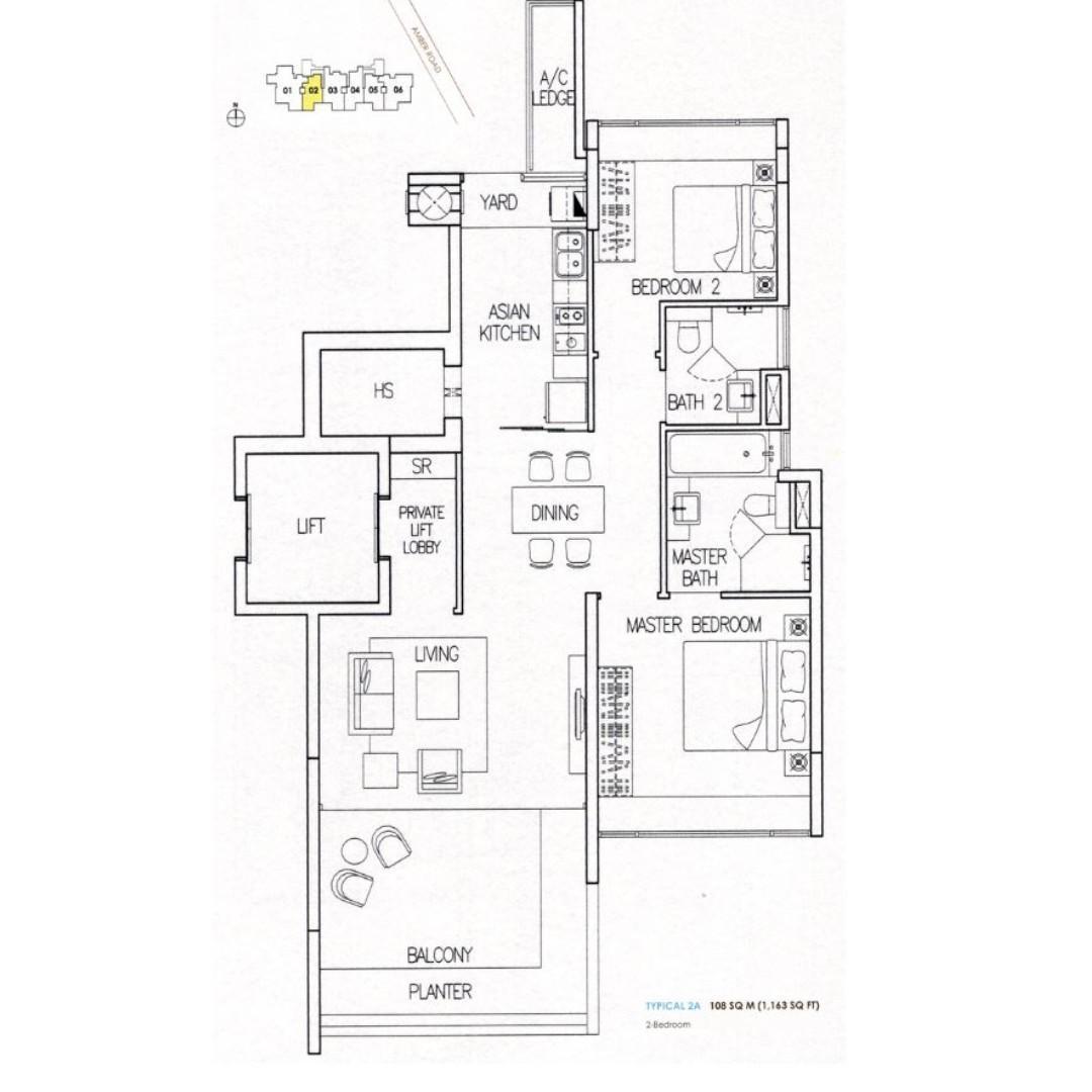 Amber Residences Property Rentals Condos Ecs On Carousell