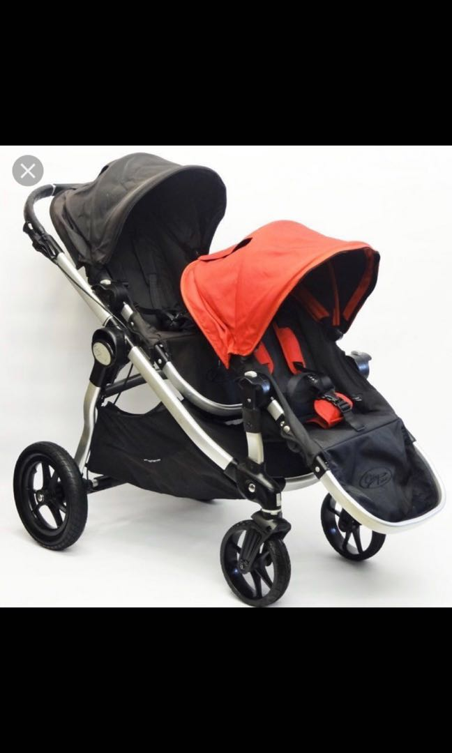 Baby Jogger City Select Black Red