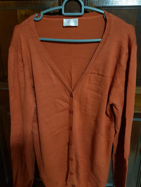 Burnt Orange Cardigan