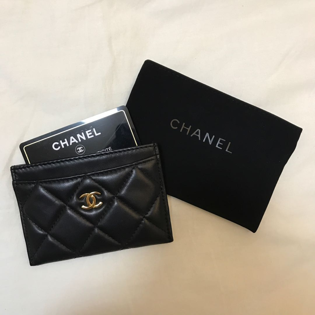 0400331d205 Chanel Quilted Cardholder, Lambskin with GHW, Women's Fashion, Bags ...