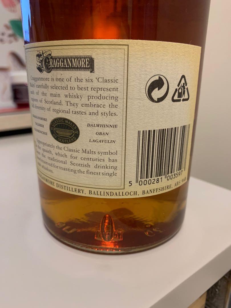 Cragganmore Whisky 12 年威士忌