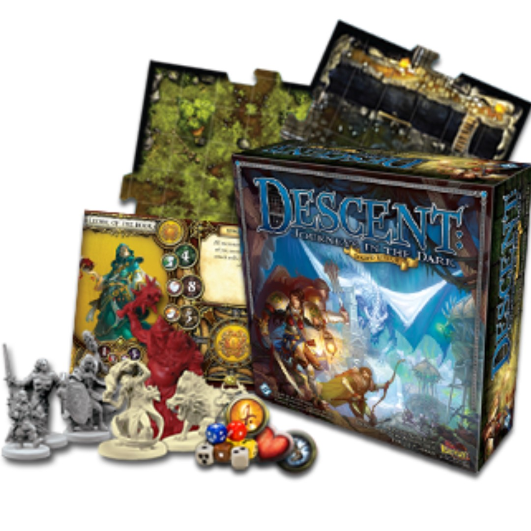 Descent (2nd Edition) - Sleeved and Used