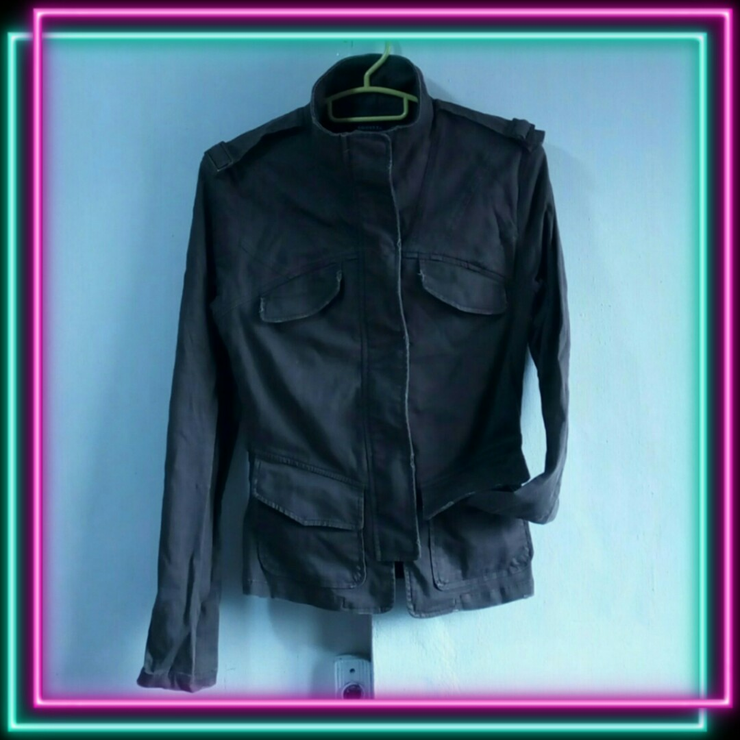 Egoist classic military type jacket 15160f733c