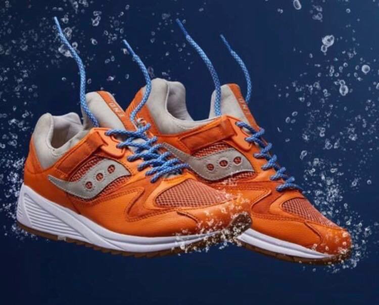 9c8a57d0ed3e END. x Saucony Grid 8500 Lobster