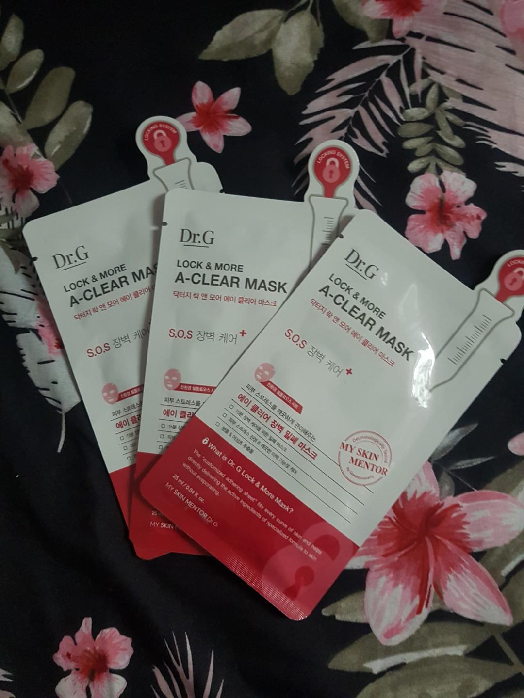 Face Mask, Health & Beauty, Face & Skin Care on Carousell