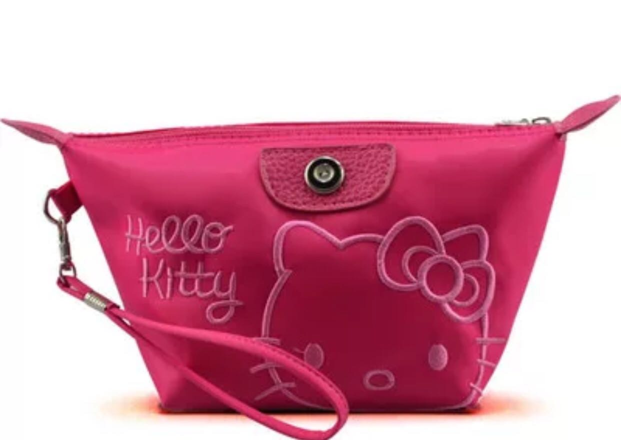 4420f1e1e Hello Kitty Wristlet, Women's Fashion, Bags & Wallets, Clutches on ...