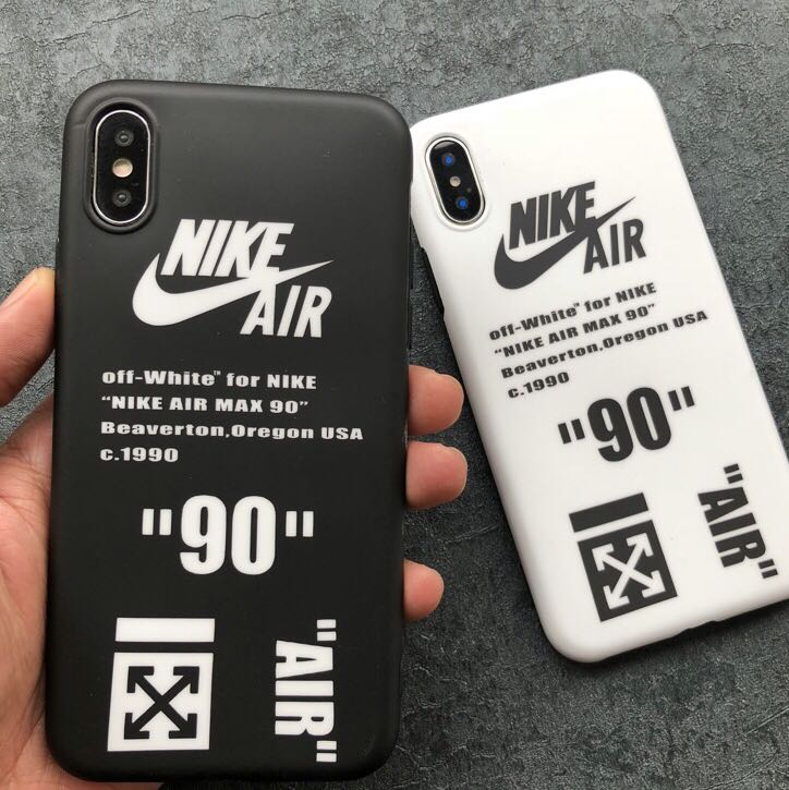 size 40 caee2 d23e7 iPhone X/XS/XR/XS MAX Nike Air x Off White Case