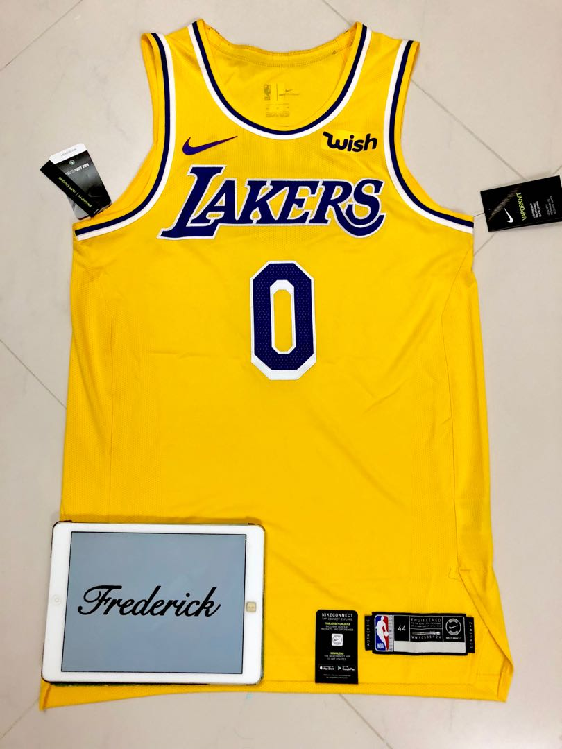 new arrivals c388a 78b59 Kyle Kuzma Lakers Authentic Jersey 44 Nike NWT