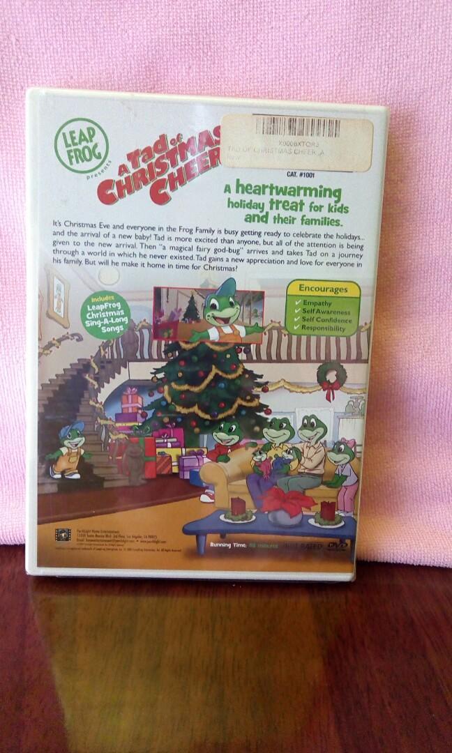 Leapfrog A Tad Of Christmas Cheer.Leapfrog Dvd Music Media Cds Dvds Other Media On