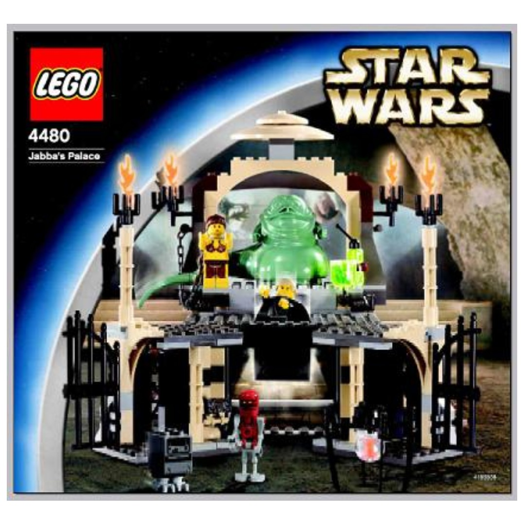 Lego Star Wars Jabbas Palace 4480 Toys Games Bricks