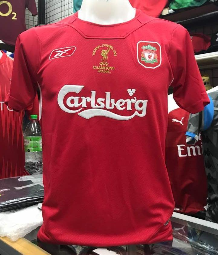 purchase cheap c5ebd fe69a Liverpool 2005 Istanbul Jersey, Sports, Sports Apparel on ...