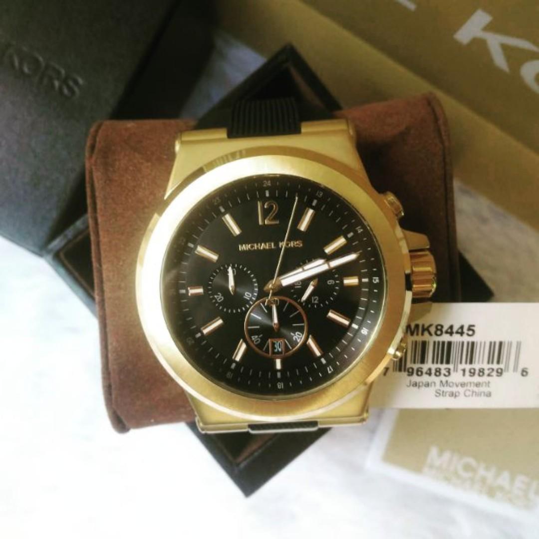 501bfa8c837b Michael Kors Dylan Black Dial Men s Watch - MK8445