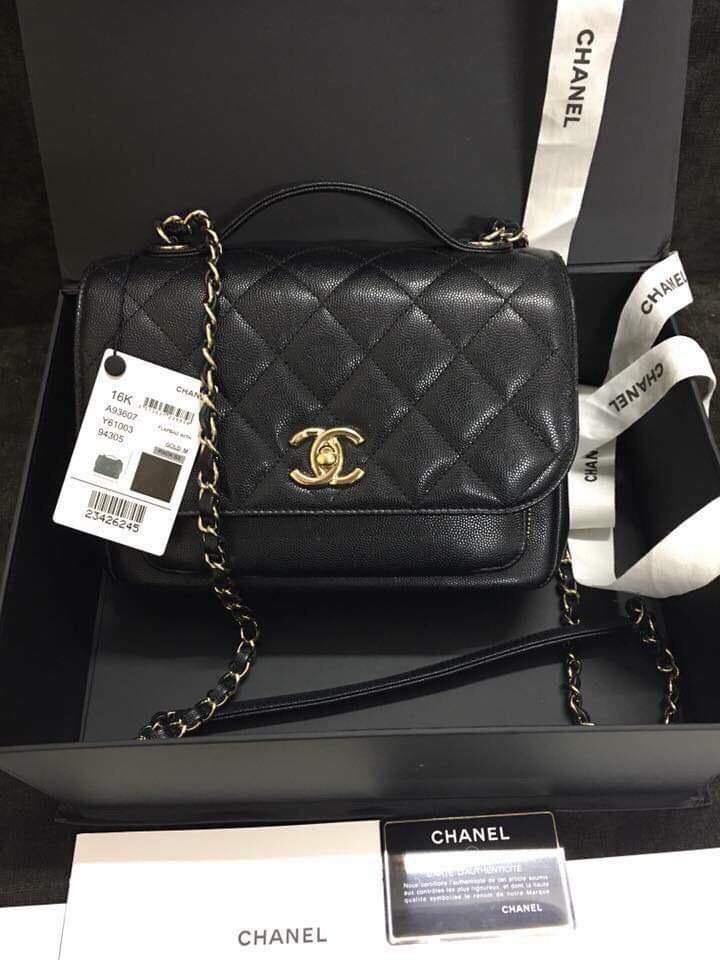 3d8e70f25b568e New Chanel Affinity Medium Black with GHW., Luxury, Bags & Wallets,  Handbags on Carousell
