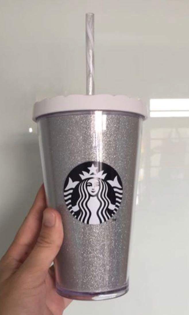 (New) Starbucks Silver Tumbler