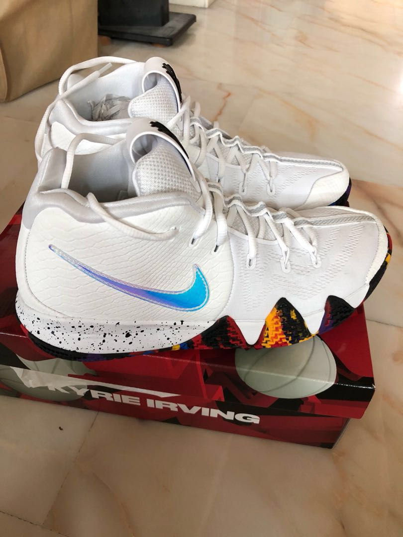 fa0eb4b86c38 Nike Kyrie 4 March Madness Kyrie Irving Uncle Drew