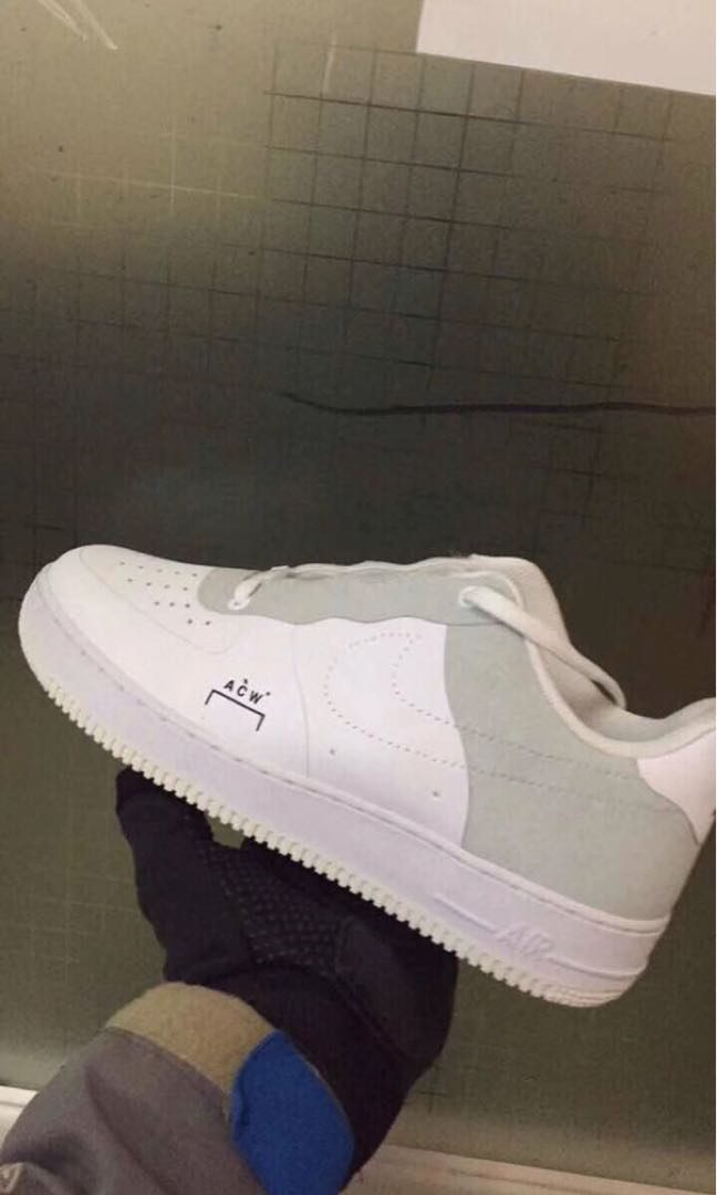 8a27d91a74a NIKE X ACW Air Force 07 Low, Women's Fashion, Shoes, Sneakers on ...