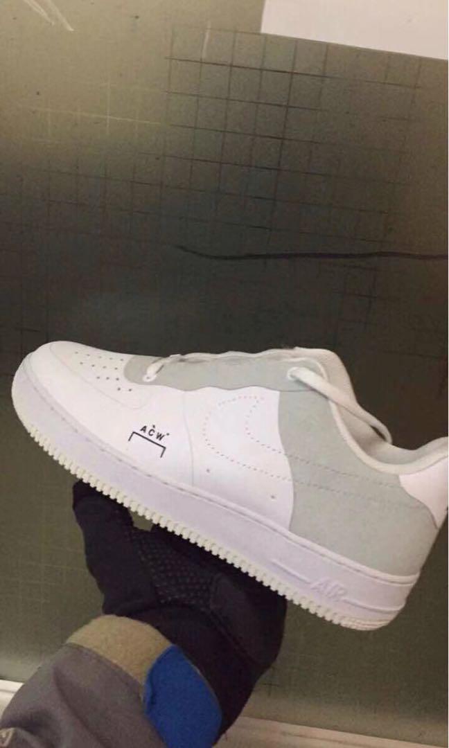pretty nice 7fcde 74a63 NIKE X ACW Air Force 07 Low, Women's Fashion, Shoes ...