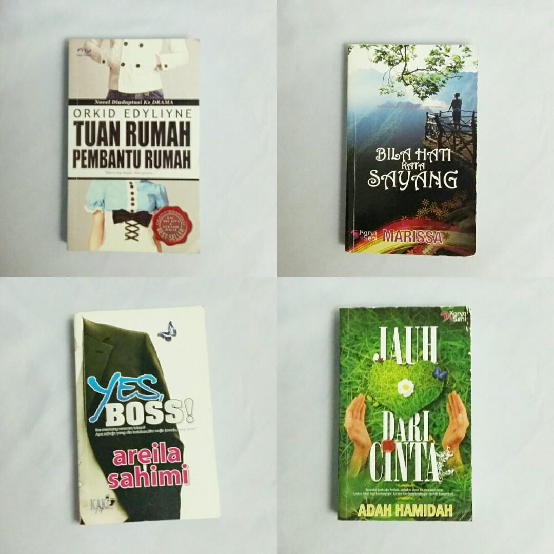 #EVERYTHING18 Malay novels combo sells