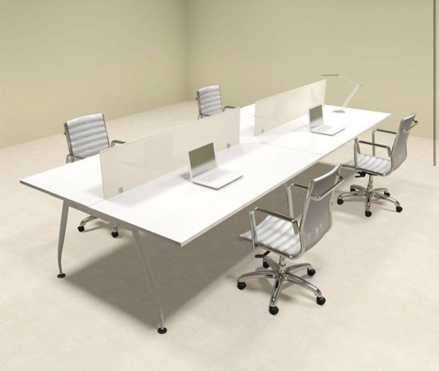Office desk divider table partition, Furniture, Tables