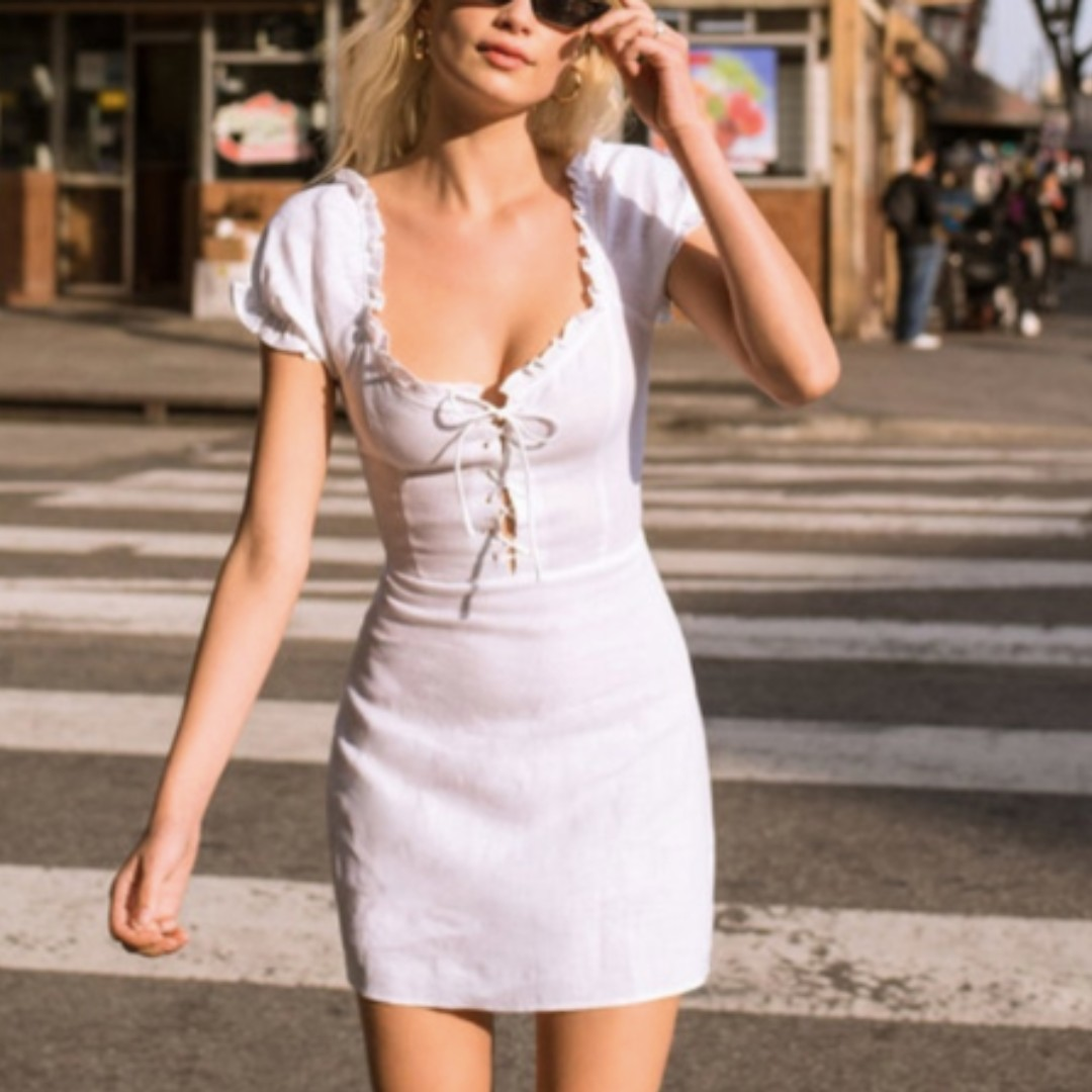 b020bc2c9a7 PO) Reformation Klara Dress - White