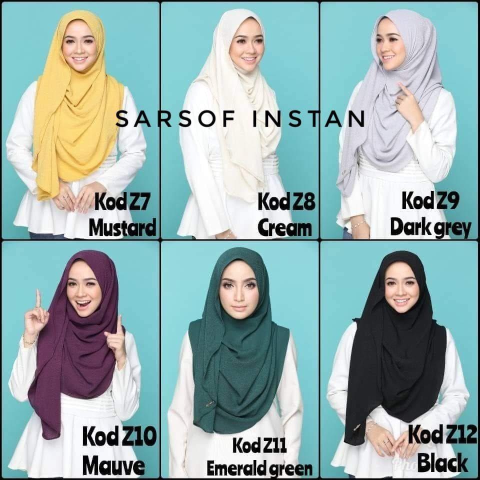 PO) Sarsof Instant Shawl -  16 15fdb75113