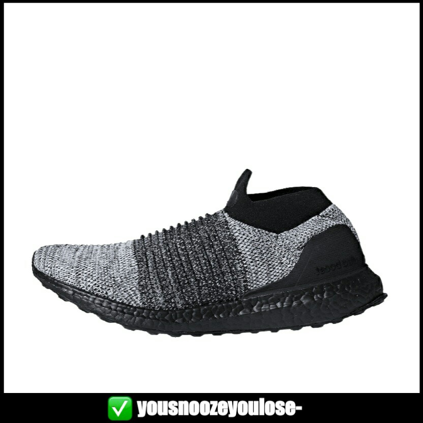 finest selection 06904 f846f PREORDER] ADIDAS ULTRA BOOST ULTRABOOST LACELESS OREO BLACK GREY ...