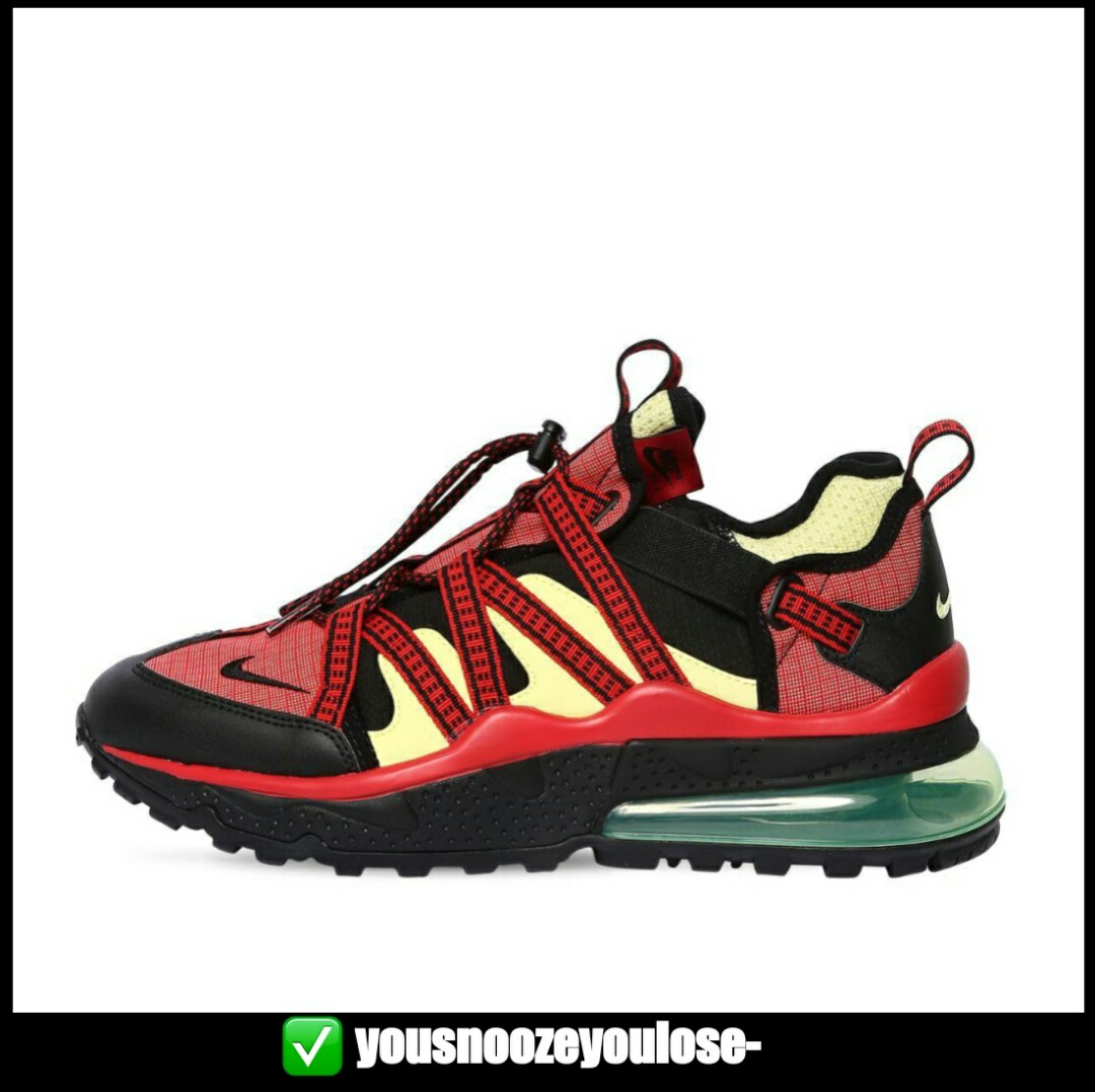 official photos 29a5a 5d1dc [PREORDER] NIKE AIR MAX 270 BOWFIN UNIVERSITY RED CITRON
