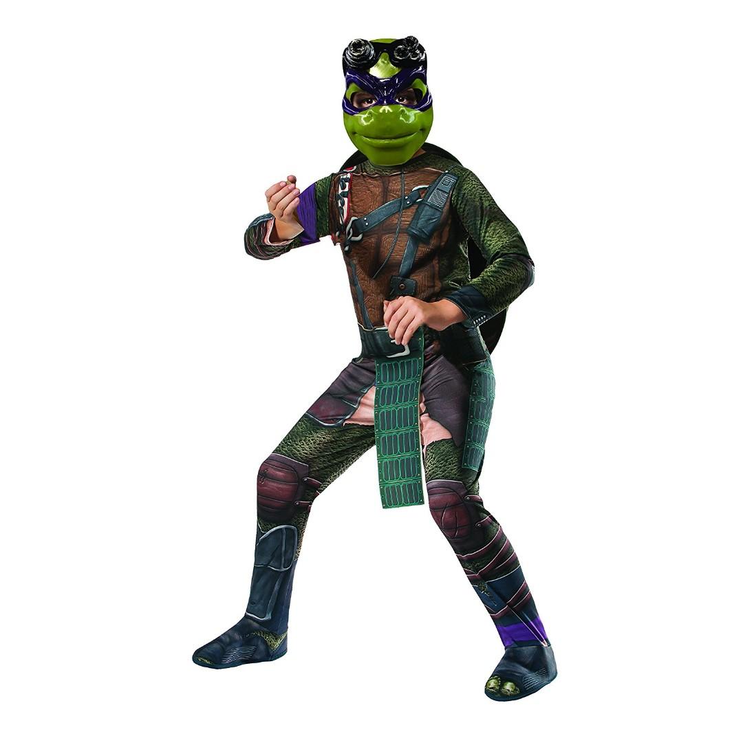 dc8734a9529 Rubie's Costume Kids Teenage Mutant Ninja Turtles Donatello Costume for  Kids Halloween Birthday parties