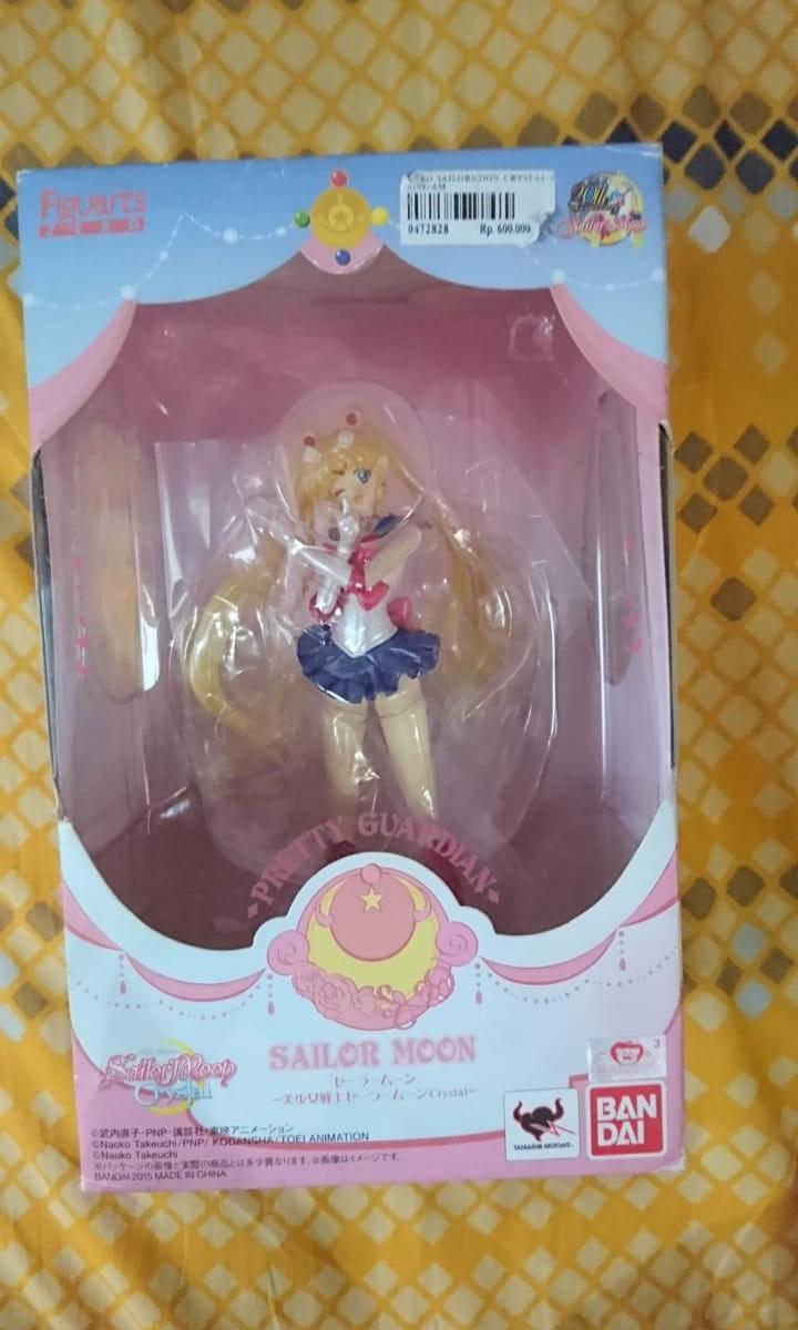 Sailormoon action figure.. Sailormoon crystal.. Bandai.. BIB