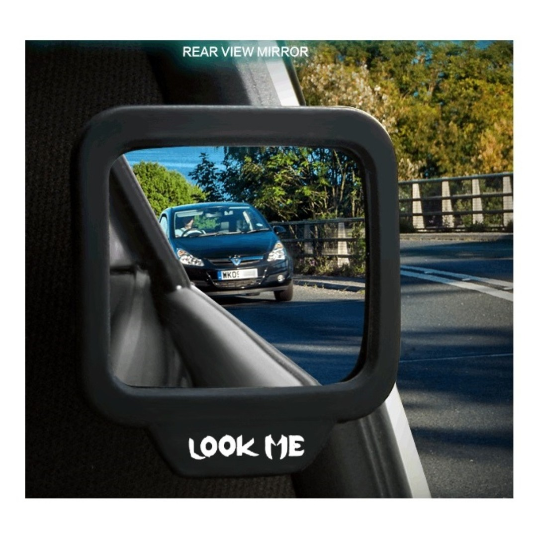 Small Rear View Blind Spot Blind Zone Observation Reversing Large