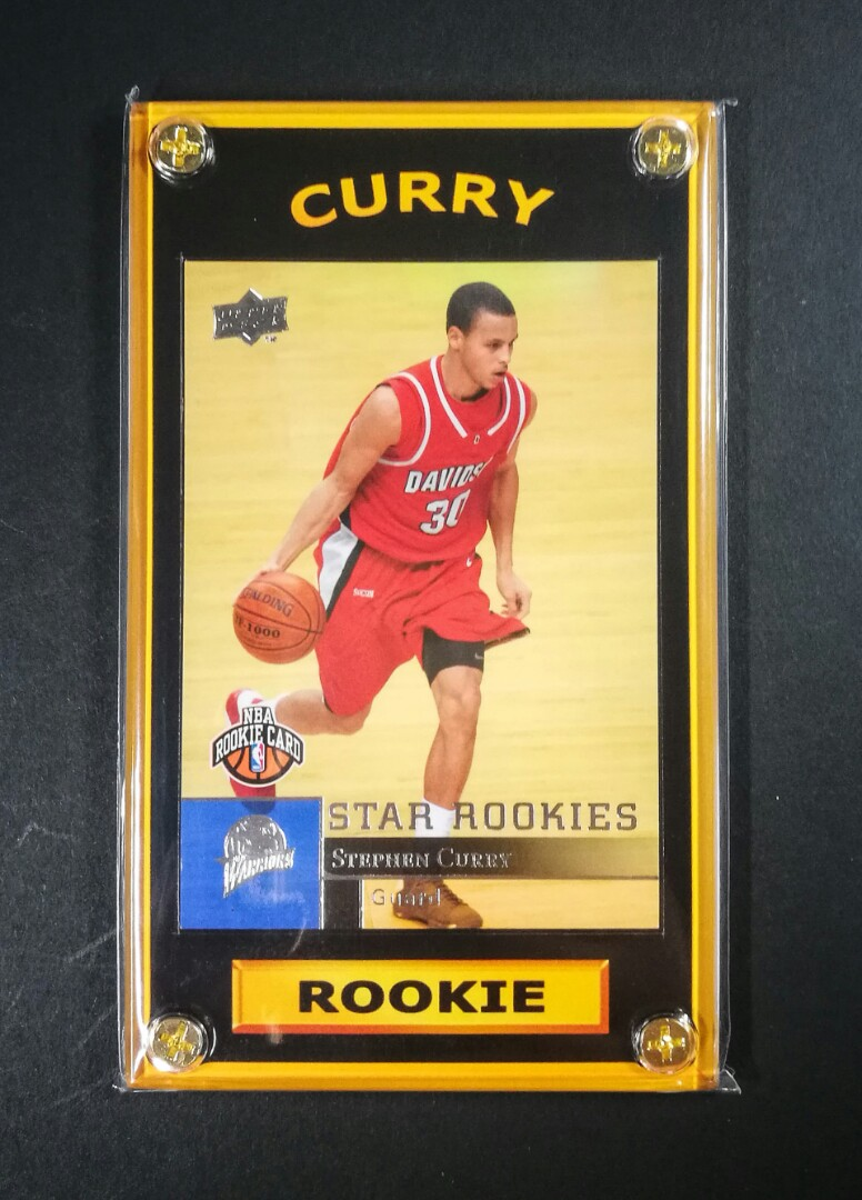 Stephen Curry Mr Three Pointer Rookie Basketball Card
