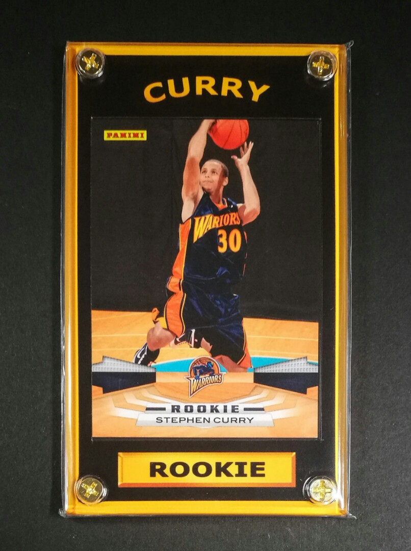 Stephen Curry Rookie Basketball Card Nba Three Pointer
