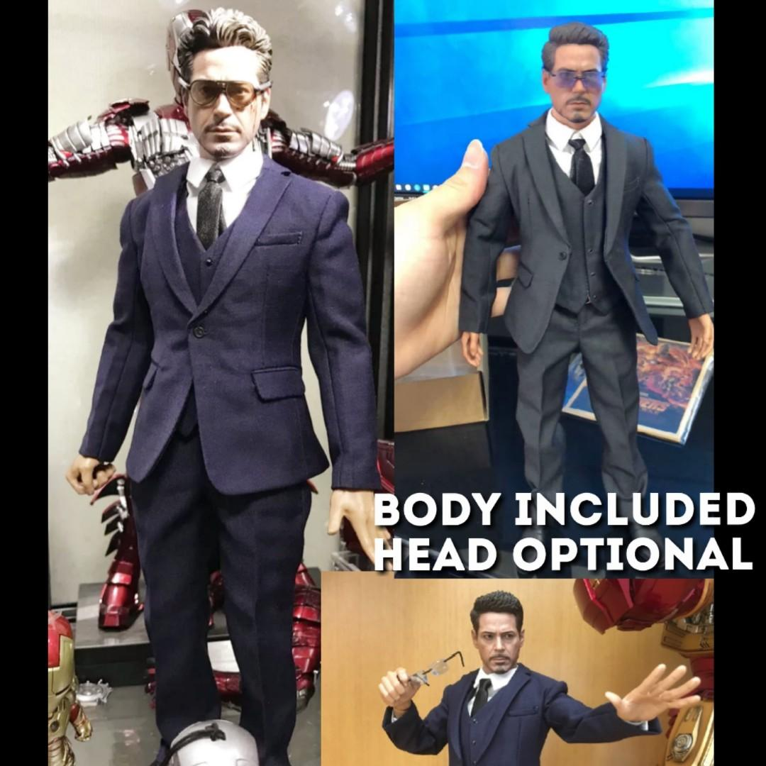 """1//6 Gentlemen Business Suit Set A For 12/"""" Hot Toys Male Figure ☆SHIP FROM USA☆"""
