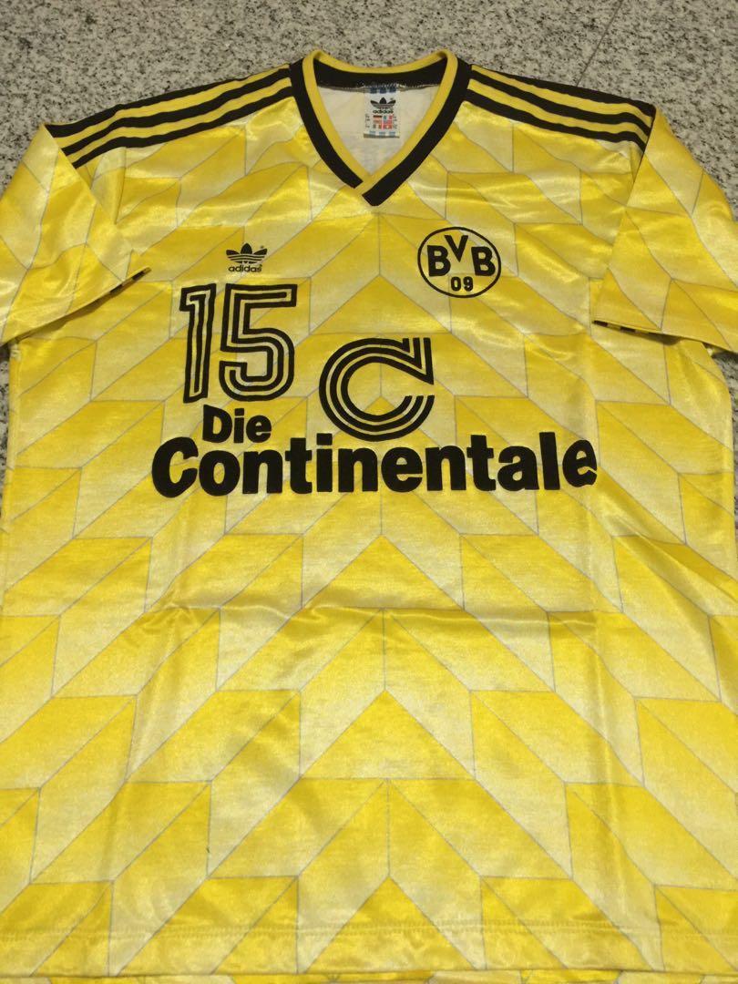 premium selection db1e7 c8cd4 Super rare Vintage 1990s BVB Dortmund Jersey, Sports, Sports ...