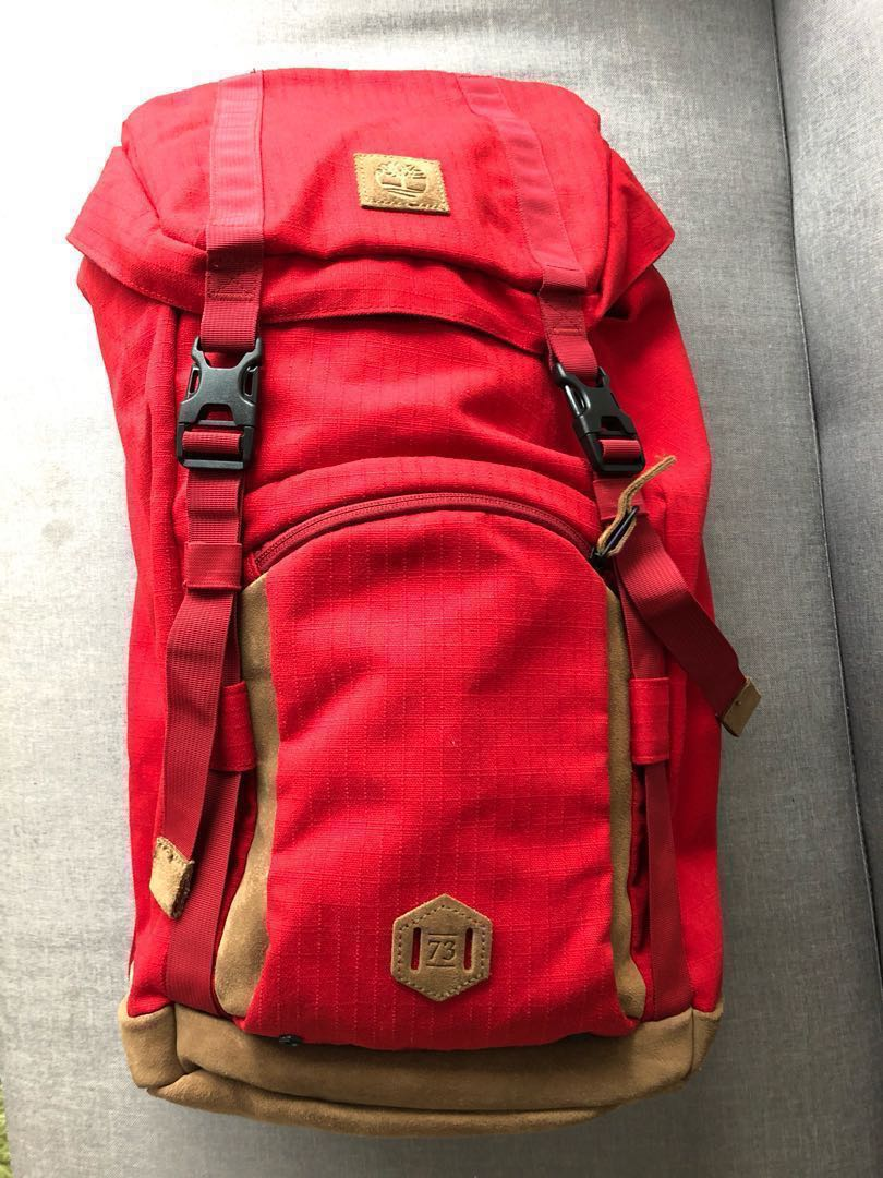 8a3d2a2463 Timberland Backpack, Women's Fashion, Bags & Wallets, Backpacks on ...