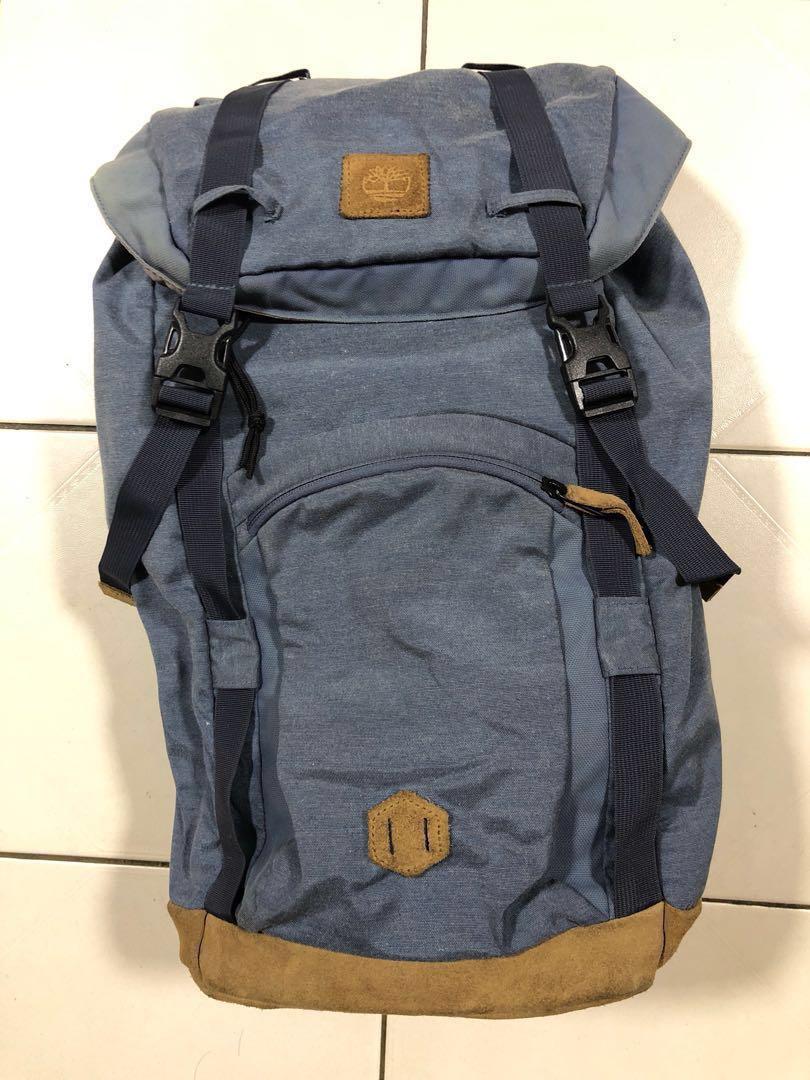 6e2f0cccfa Timberland Vintage Backpack, Men's Fashion, Bags & Wallets ...