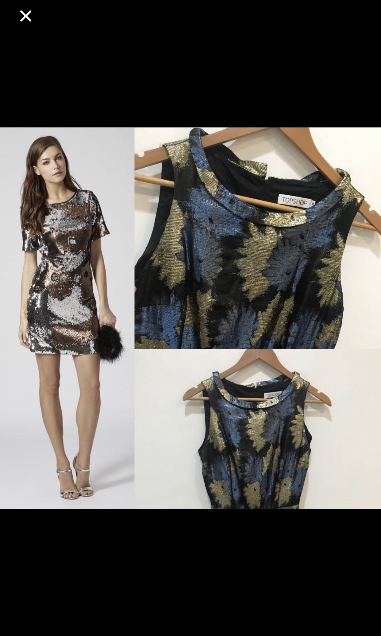 Topshop Sequin Dress