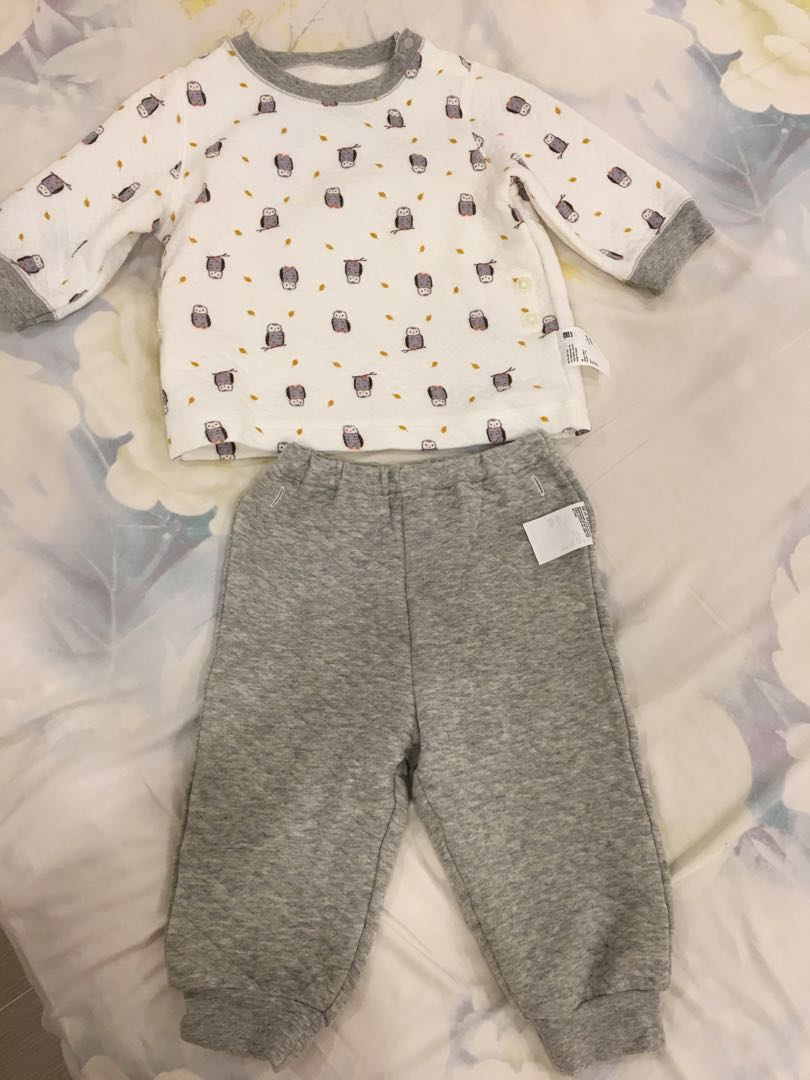 58f0e1d2c2 Uniqlo quilted pajamas