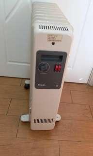 PHILLIPS 飛利浦 油壓式暖爐