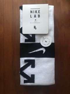 Nike x offwhite football socks