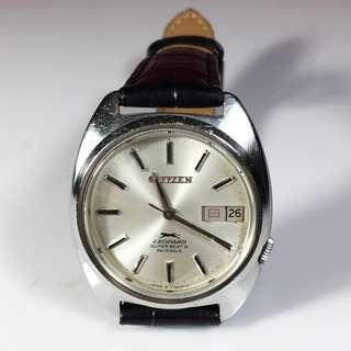 1970s Citizen Leopard Super Beat 8 Automatic Men's Watch